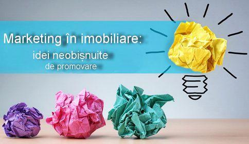 Marketing în imobiliare: idei de promovare neobișnuite, dar de succes (FOTO)
