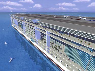 Oraşul plutitor: un proiect de 10 miliarde de dolari