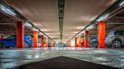 Parcare subterană în Piața Dorbanți