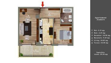 02 Apartament 2 camere 47400 E