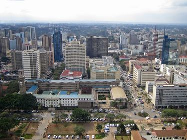 Nairobi, în plin boom economic. Oraşul verde se transformă într-o junglă de beton