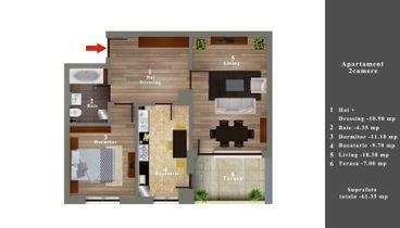 03 Apartament 2 camere 48900 E
