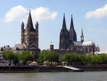 Köln-ul de astăzi, rezultatul unui proces de reconstrucţie de jumătate de secol