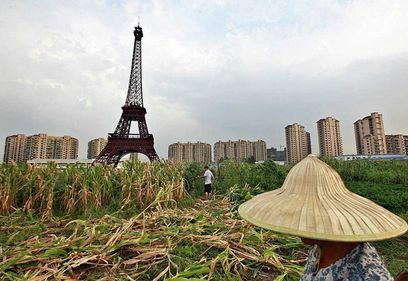 Chinezii şi-au construit propriul Paris (FOTO)
