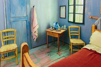 De pe pânză, în realitate: dormitorul lui Van Gogh, oferit spre închiriere (FOTO)
