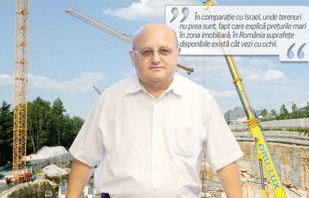 Asher Lax, Adama: In Bucuresti si imprejurimi sunt terenuri pentru inca 200.000 de locuinte