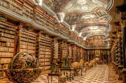 Comori arhitecturale: Klementinum din Praga, cea mai frumoasă bibliotecă din estul Europei (FOTO)