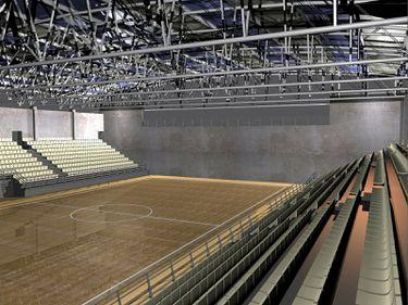 Udrea a inaugurat o sală de sport de 3,4 mil. lei la Academia de Poliţie din Capitală