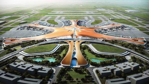 Cel mai mare aeroport al lumii se deschide în 2019 și este o adevărată operă de artă