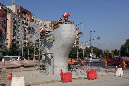 Prima etapă a pasajului Mihai Bravu va fi gata în martie 2012