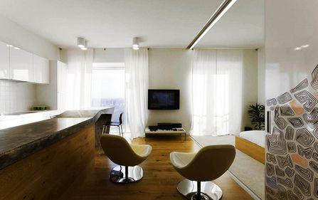 Amenajare: amplificarea senzaţiei de spaţiu, cu ajutorul pereţilor glisanţi şi al designului minimalist (FOTO)