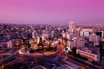 Amman, unul dintre cele mai occidentalizate oraşe arabe