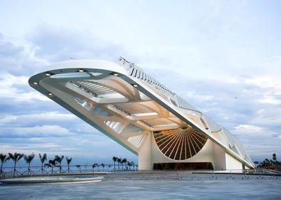 Clădire din altă lume: știință și artă, în Muzeul Zilei de Mâine, din Rio de Janeiro (FOTO)