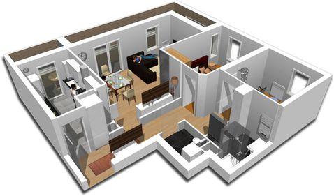 Vizionează locuinţele în 3D, de acasă. Tehnologia viitorului este deja aici