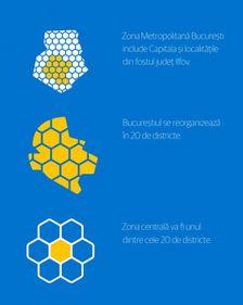 București – 20 de districte în loc de șase sectoare