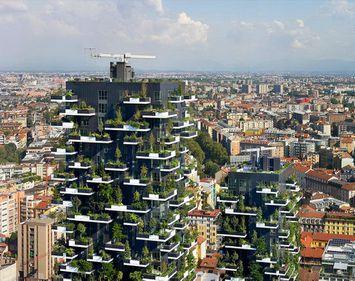 Prima clădire din lume acoperită cu plante perene: un zgârie-nori cu locuințe, de aproape 120 metri (FOTO)