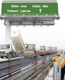 Megalicitație la Transporturi pentru autostrăzi
