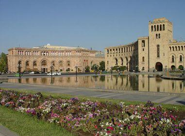 În capitala Armeniei, cei care animă activitatea din sectorul rezidenţial sunt refugiaţii sirieni