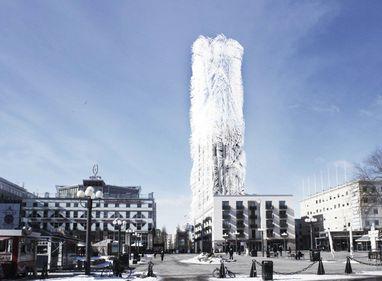 """Zgârie-norii """"îmblăniţi"""", viitorul arhitecturii urbane? (FOTO)"""