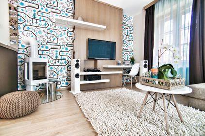 Amenajare: culori şi obiecte unicat, într-un apartament modern (FOTO)
