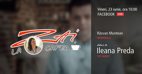 LIVE :: ZAI la o CAFEA! - împreună cu Ileana Preda
