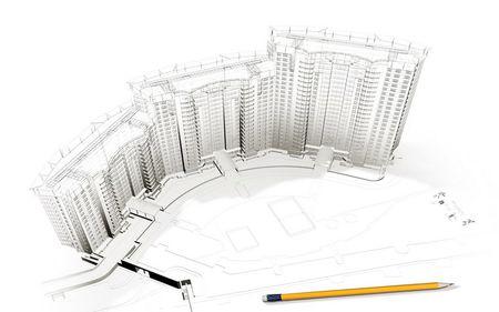 Începe construcția unui mega ansamblu rezidențial, în Capitală - 5.000 apartamente noi, până în 2016