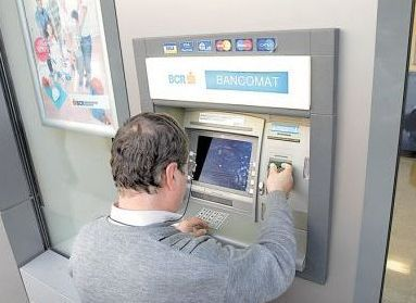 Cine scoate bani de la un bancomat BCR primeşte cadou o melodie