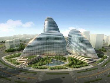 Chinezii s-au autodepasit. Au copiat o constructie inca neterminata, care va fi gata inaintea proiectului original
