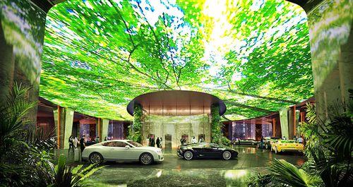 Încă o premieră mondială, în Dubai: primul hotel cu pădure ecuatorială în interior (FOTO)