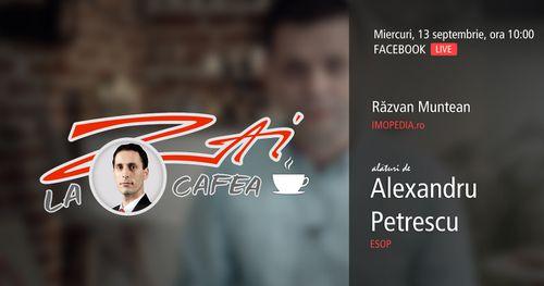 LIVE :: ZAI la o CAFEA! - împreună cu Alexandru Petrescu