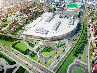 Polonezii de la Echo încep în vară, cu fonduri proprii, lucrările la un mall în Braşov