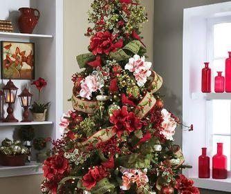 Idei pentru Crăciun: bradul împodobit cu flori, ultima tendință (FOTO)