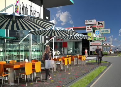 10 milioane euro, investiți într-un mall de mici dimensiuni, în sudul Capitalei