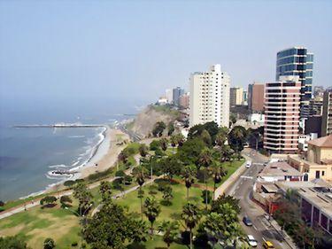 În capitala peruană Lima, criza economică a fost depăşită rapid, astfel că piaţa imobiliară nu a avut de suferit