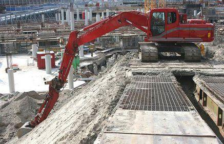 Volumul lucrărilor de construcţii, în creştere cu 4,7% în primele şapte luni ale anului