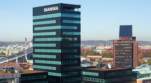 20% din tranzacțiile office din CEE, în 2015, aparțin gigantului suedez Skanska