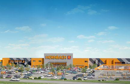 Hornbach, la Sibiu: al șaselea magazin va avea o suprafață de circa 12.000 mp