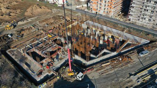 Un nou complex cu opt blocuri pe Prelungirea Ghencea