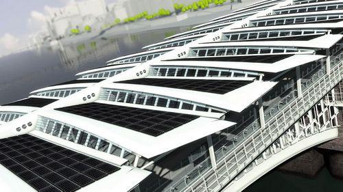 Londra inaugurează cel mai mare pod din lume, alimentat cu energie solară