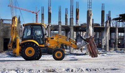Românii sunt campioni europeni la construcţiile realizate iarna