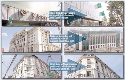 """Punctul zero al Capitalei, """"cosmetizat"""" prin investiţii de 150 de milioane de euro"""