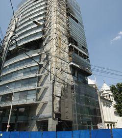 """Clădirea """"fantomă"""" din zona Armenească ar putea fi reconstruită anul viitor"""