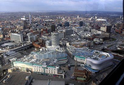 Birmingham a intrat în atenţia investitorilor imobiliari datorită preocupării autorităţilor