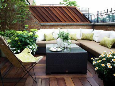 Organizat cu atenţie, balconul poate fi un spaţiu plăcut, dedicat relaxării