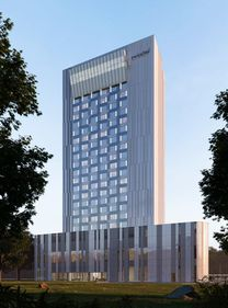 Cel mai înalt hotel din București va avea 85 de metri
