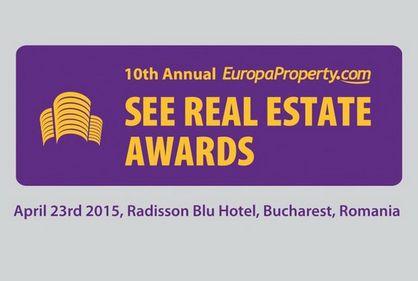 SEE Real Estate Awards: EuropaProperty comunica lista nominalizaților