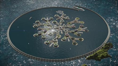Oraș plutitor, gata în 2020, caută țară-gazdă