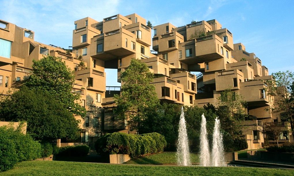 Habitat 67, ansamblul rezidențial canadian asemănător unui Lego uriaș (FOTO)
